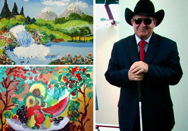 O intrigante trabalho do pintor cego que nunca enxergou nenhuma das coisas que retratou em suas obras <!--:en-->