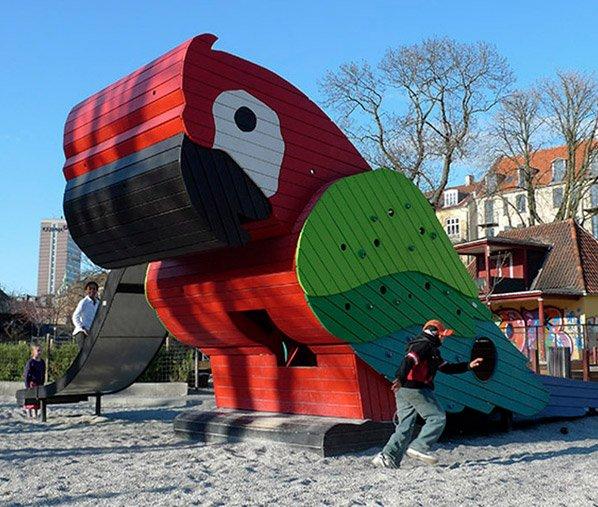 Empresa de design cria playgrounds inovadores nos quais você adoraria ter brincado quando criança