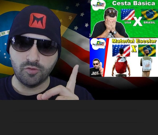 Brasileiro cria vlog para comparar a realidade dos EUA com a do Brasil em áreas como saúde, salário e cesta básica