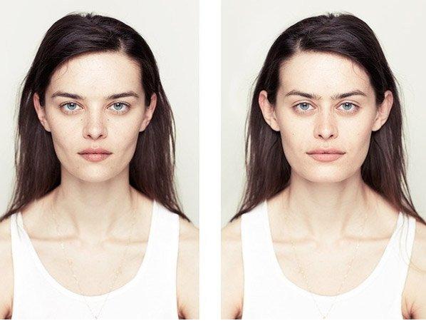 Se você acha que os dois lados do seu rosto são iguais, precisa ver essa série fotográfica