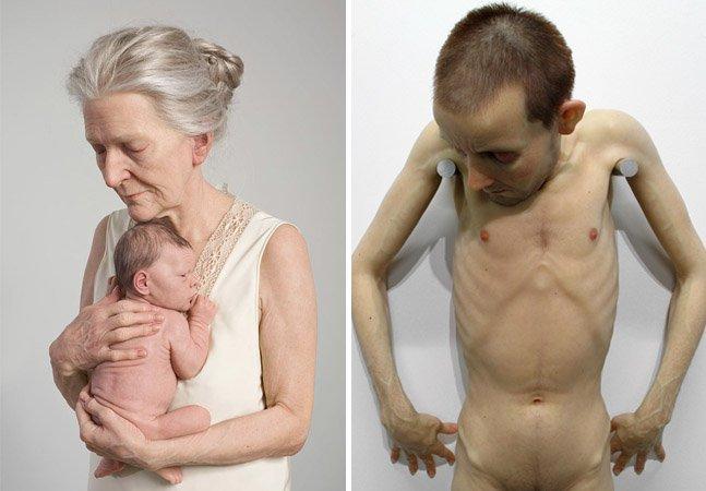 Artista faz esculturas hiper-realistas que vão confundir seus sentidos