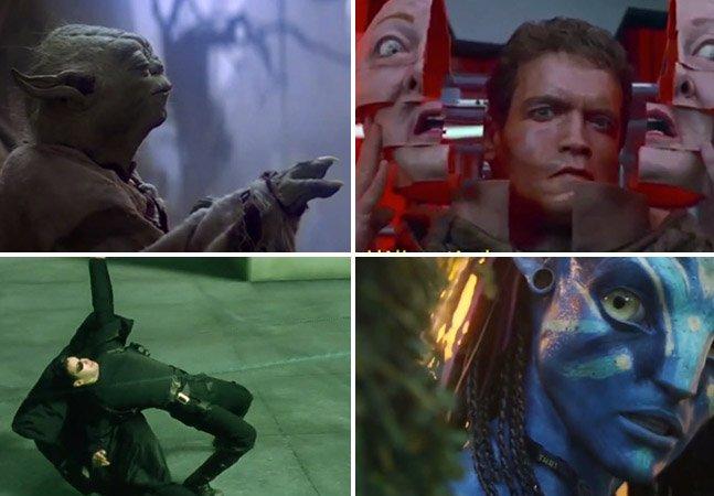 Vídeo fantástico mostra a evolução dos efeitos especiais no cinema desde 1977
