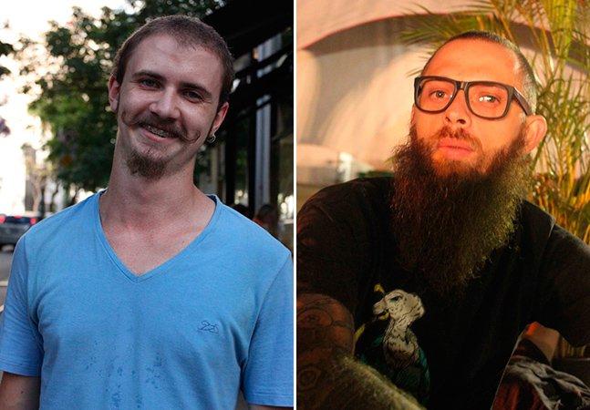 Publicitário registra as barbas que encontra pelas ruas de São Paulo