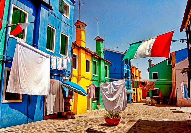 Burano – a pequena cidade colorida e apaixonante da Itália