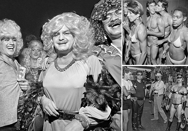 Série fotográfica mostra a vida em comunidade gay dos EUA no começo da epidemia da AIDS