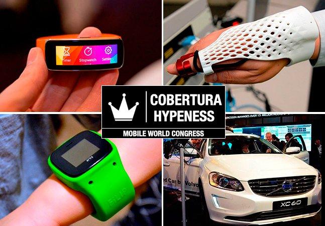 Cobertura Hypeness: veja 9 produtos (realmente) inovadores lançados no Mobile World Congress 2014