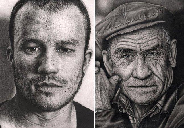 Homem é diagnosticado com Síndrome de Asperger e decide usar a arte para combater a doença