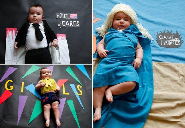 Fotógrafa transforma bebê adorável em personagens de suas séries favoritas