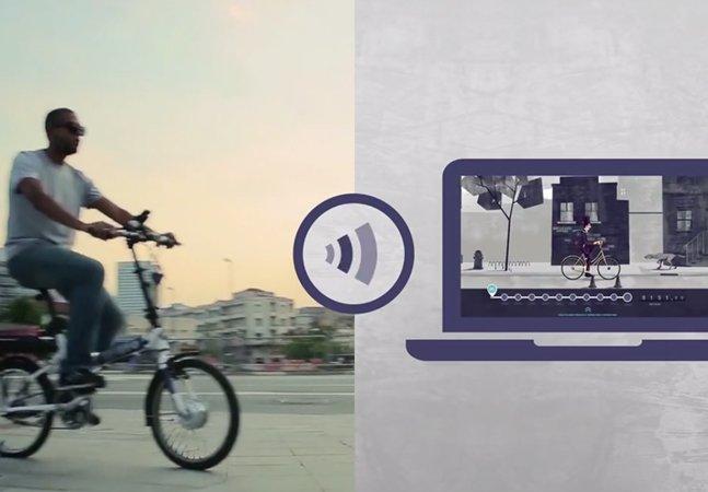 Programa oferece prêmios para funcionários que usem bicicletas para ir ao trabalho