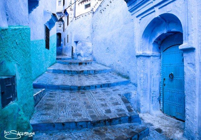 Conheça Chefchaouen, a Cidade Azul que fica no Marrocos