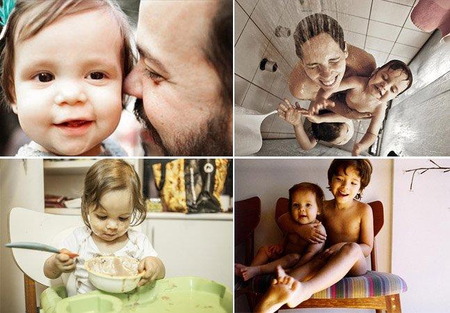 Pai cria diário para registrar momentos emocionantes em família que seus filhos poderão ver no futuro
