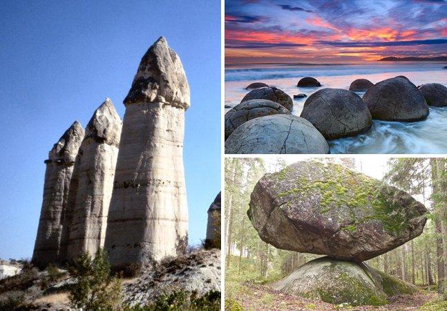 11 formações geológicas que você vai duvidar que existem mesmo