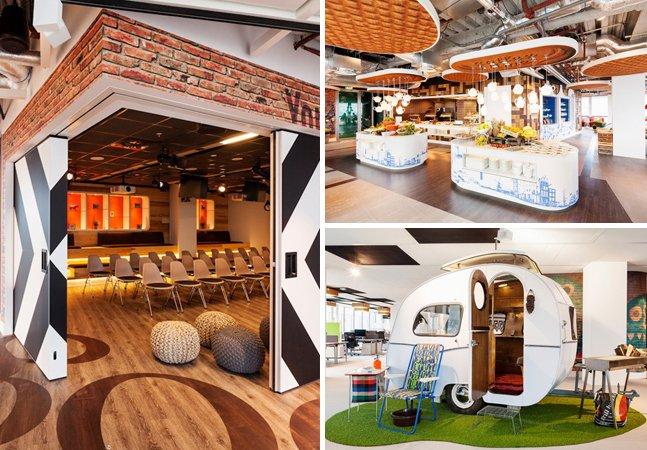 Conheça o novo escritório do Google em Amsterdam