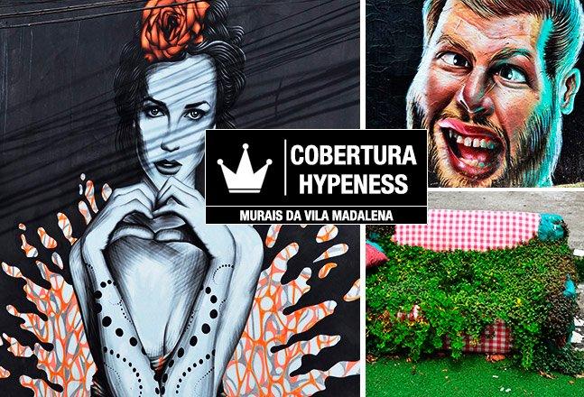 Cobertura Hypeness: um tour pelos murais e grafites da colorida Vila Madalena