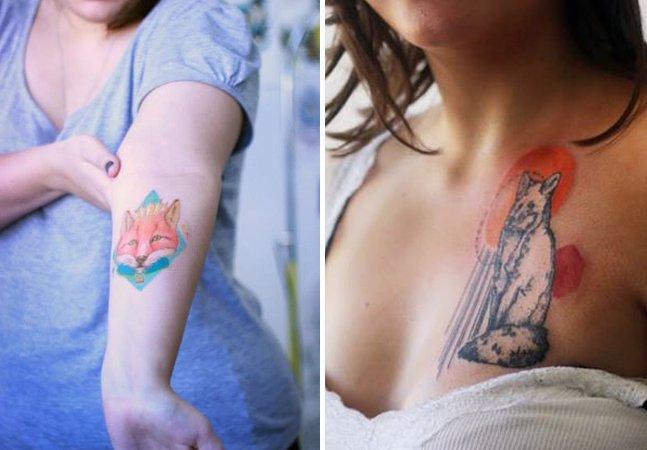 Da aquarela à geometria: conheça a arte da tatuadora brasileira Paola Rodrigues