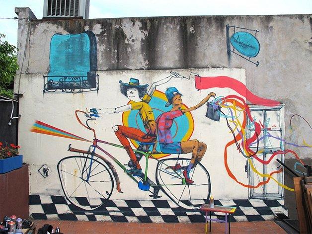 Grafitti em Buenos Aires