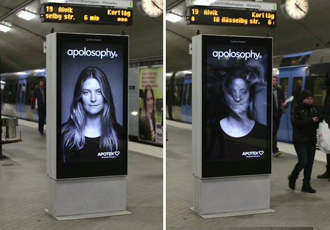 Como chamar a atenção de passageiros com uma propaganda no metrô