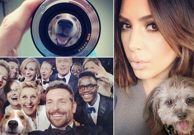 Com ajuda do Photoshop, artista coloca cães em fotos de celebridades pra ajudar na adoção