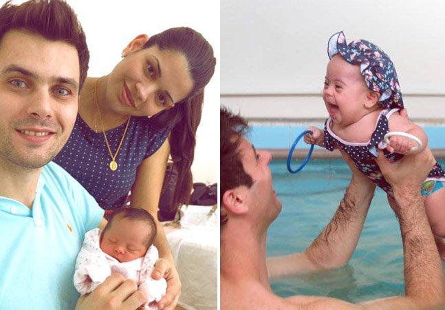 Casal cria blog encantador onde registra o cotidiano da filha com Síndrome de Down