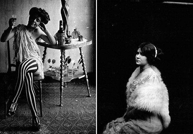 Série de fotos secreta mostra como eram as profissionais do sexo no começo do século passado