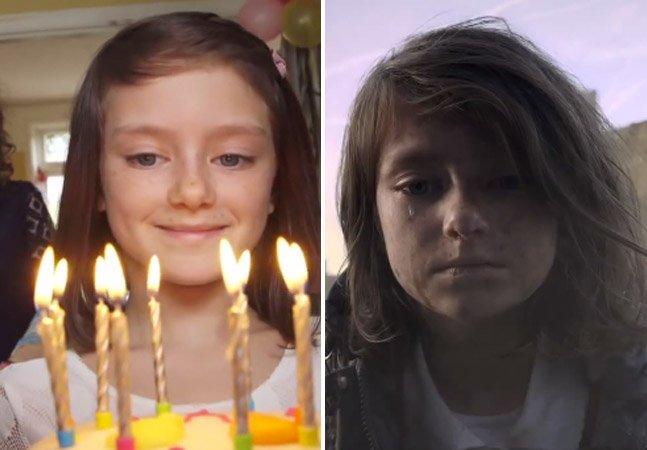 A destruição da vida de uma criança filmada um segundo por dia