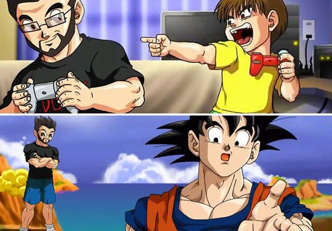 Pai dedicado recria Dragon Ball e coloca o filho como personagem pra dar de presente de aniversário