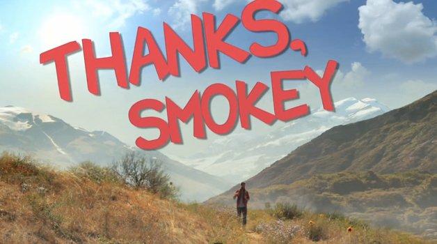 Thanks Smokey, curta mostra que drogas são cilada