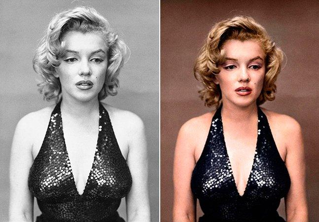Mais fotos icônicas em preto e branco transformadas em imagens coloridas