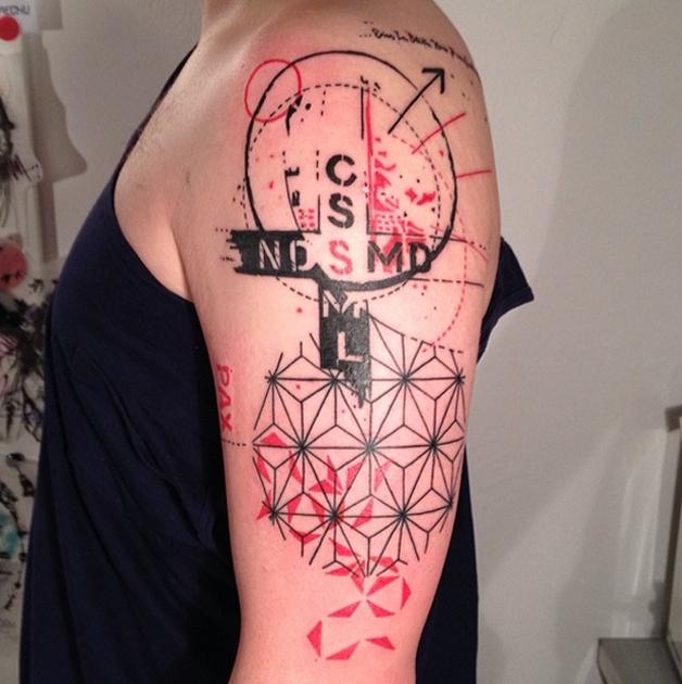 Tatuagem por Aga Mlotkowska