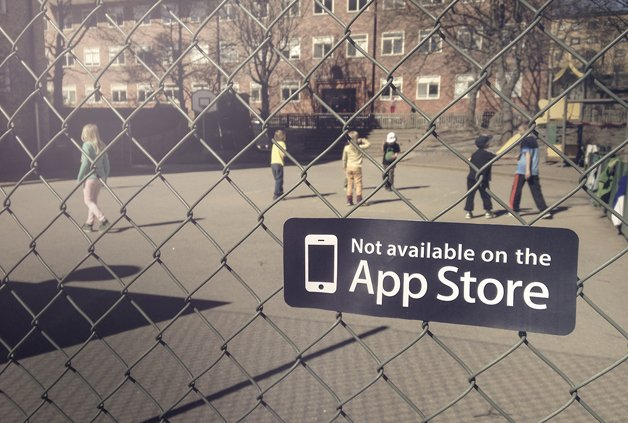 Tem coisas que a gente não baixa na AppStore...