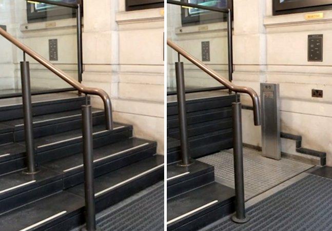 O projeto de adaptação de escada para deficientes mais brilhante e inovador dos últimos tempos