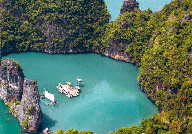 Conheça o cinema flutuante da Tailândia
