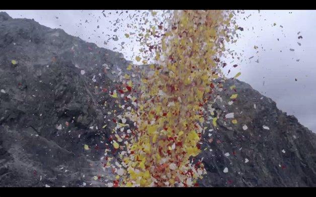 8 milhões de pétalas são usadas em comercial da Sony