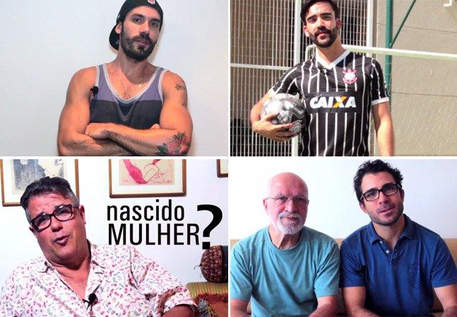 Para acabar com estereótipos, vídeo divertido mostra que nem todos os gays são como muita gente pensa