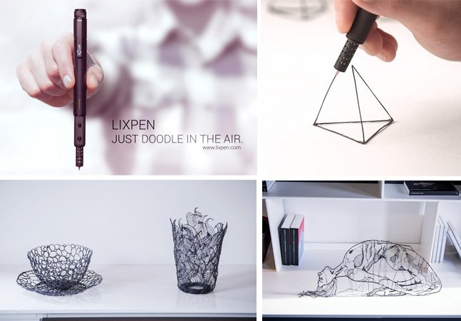 Conheça a nova e menor caneta do mundo que te permite desenhar em 3D