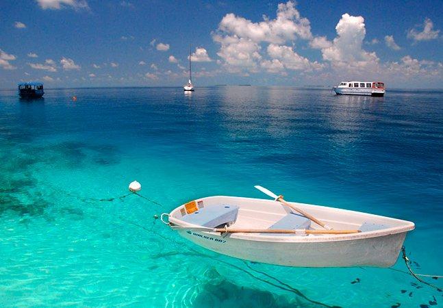 30 lugares com águas cristalinas para mergulhar antes de morrer