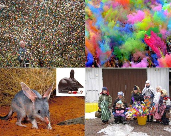 10 formas curiosas de comemorar a Páscoa pelo mundo