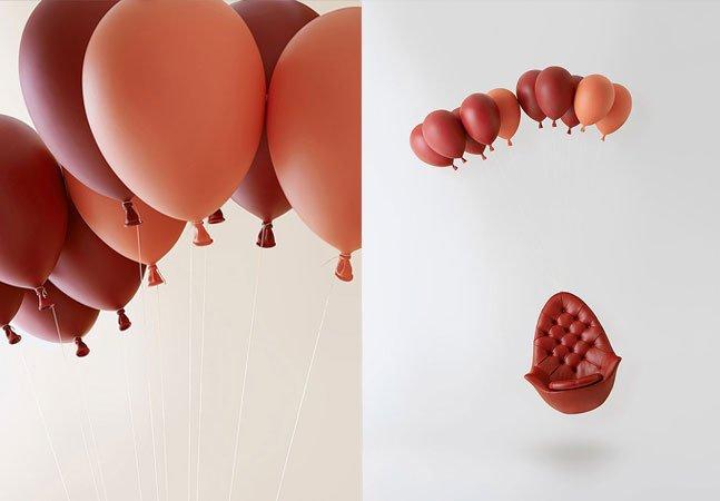 Design criativo: conheça a poltrona inovadora que parece que vai sair voando