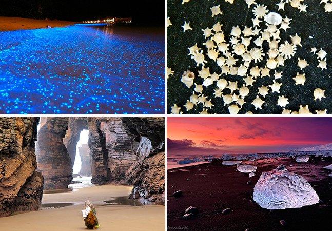 15 praias excêntricas para você considerar inserir na sua próxima viagem