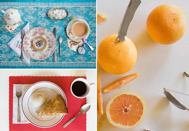 Série fotográfica retrata refeições icônicas de livros famosos