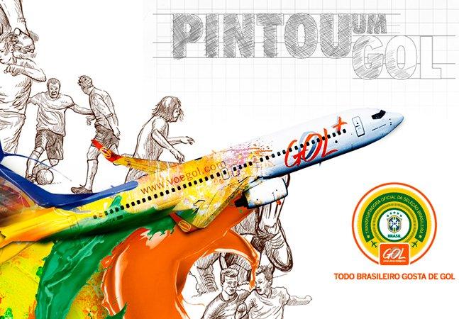 Desafio: mostre o seu talento para o desenho e veja a sua obra estampada em um avião