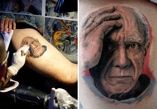 Você também vai se surpreender com o realismo das tatuagens desse artista brasileiro
