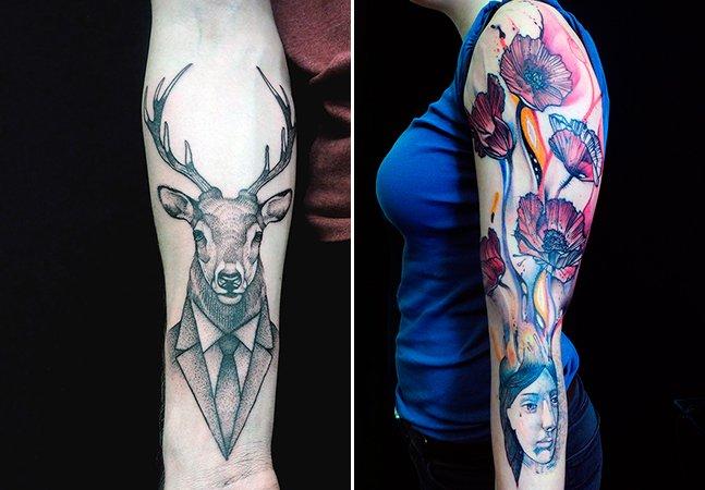 Arte no corpo: mais uma talentoso tatuador que sua pele precisa conhecer