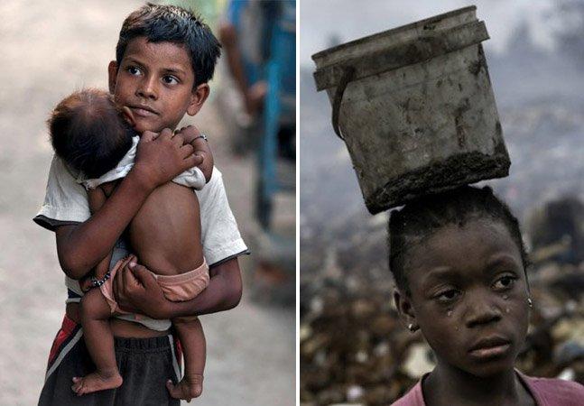 Fotógrafo registra em livro a vida de pessoas que vivem com um dólar por dia