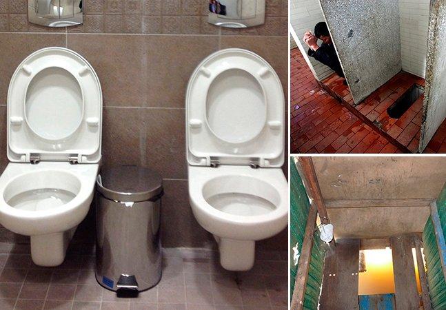 Curiosidade: saiba como são os banheiros em vários lugares do mundo