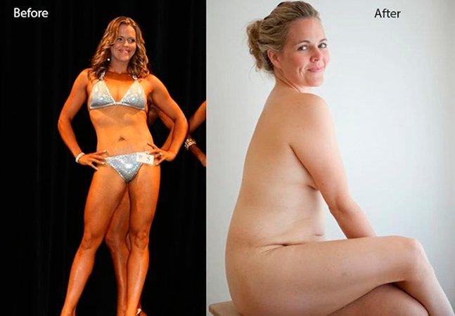 """Ela conseguiu ter um corpo """"perfeito"""" e não se sentiu feliz. Agora ajuda outras mulheres a se aceitarem como são."""