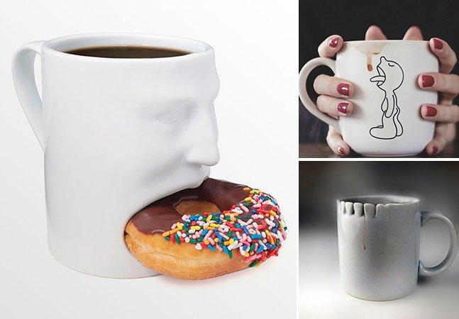 21 canecas criativas que vão deixar seu café mais gostoso