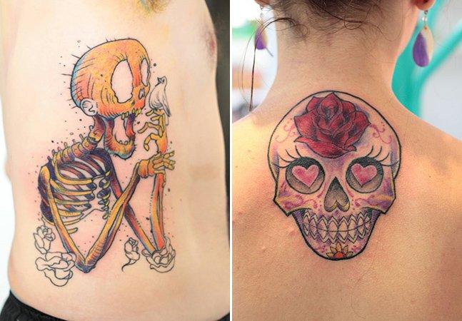 Arte na pele: conheça o trabalho de mais uma talentosa tatuadora brasileira