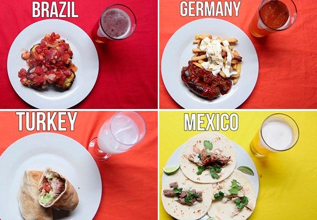 O que as pessoas mais comem quando bate a larica ao redor do mundo
