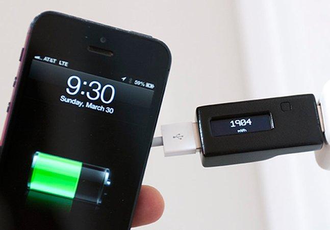 Produto inovador permite carregar o smartphone 92% mais rápido